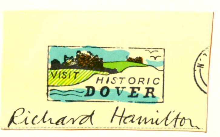 postcard for Richard Hamilton